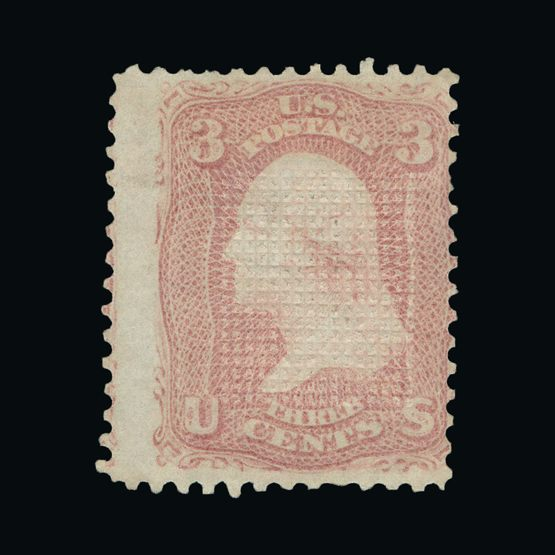 """Stamps Buy Cheap Us Sc# 65 Var *mint Og H* { """"double Perfs"""" Error } 3c Washington Of 1861 Series High Quality Goods Stamps"""