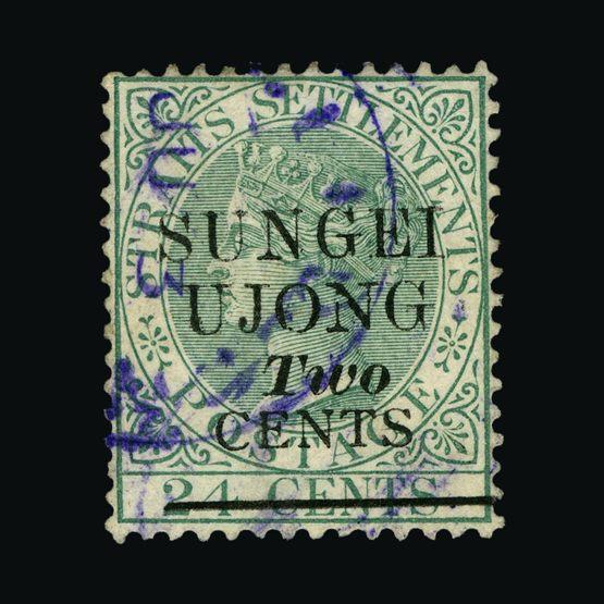 Lot 13582 - Malaya - Sungei Ujong 1891 -  Universal Philatelic Auctions Sale #64