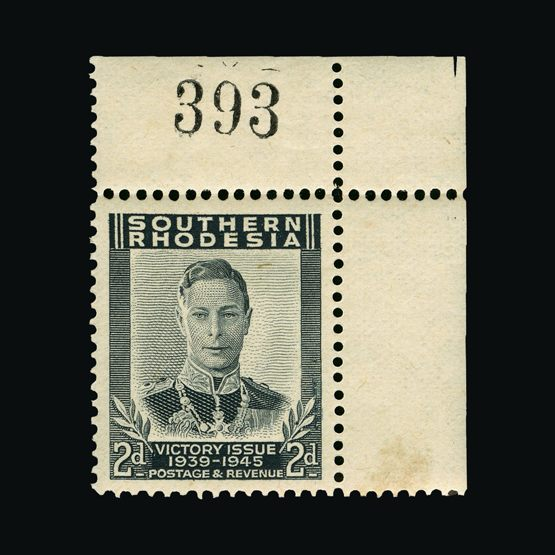 Lot 16699 - Rhodesia - Southern Rhodesia 1947 -  Universal Philatelic Auctions Sale #64