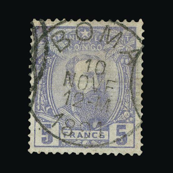 Lot 2101 - Belgium - Belgian Congo 1891 -  Universal Philatelic Auctions Sale #64