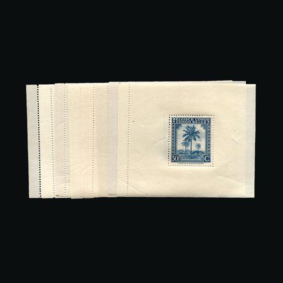 Lot 2144 - Belgium - Belgian Congo 1944 -  Universal Philatelic Auctions Sale #64