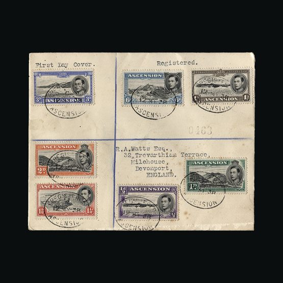 Strict Bahamas Christmas Issue On A First Day Cover. Scott Cat 547-552