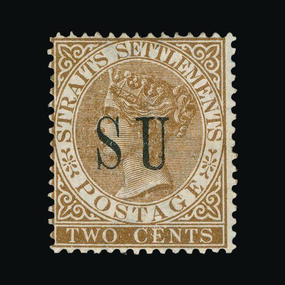 Lot 14412 - Malaya - Sungei Ujong 1882 -  Universal Philatelic Auctions Sale #72