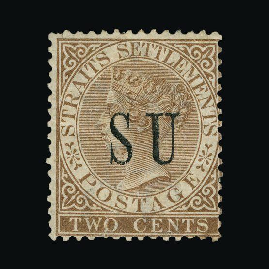 Lot 14413 - Malaya - Sungei Ujong 1882 -  Universal Philatelic Auctions Sale #72