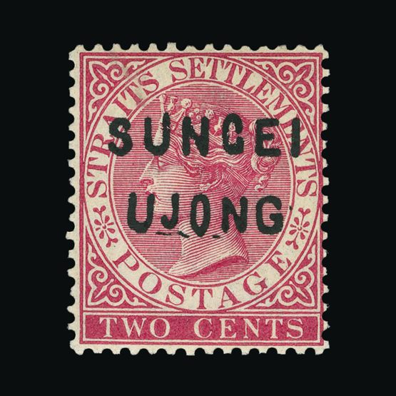 Lot 14414 - Malaya - Sungei Ujong 1882-84 -  Universal Philatelic Auctions Sale #72