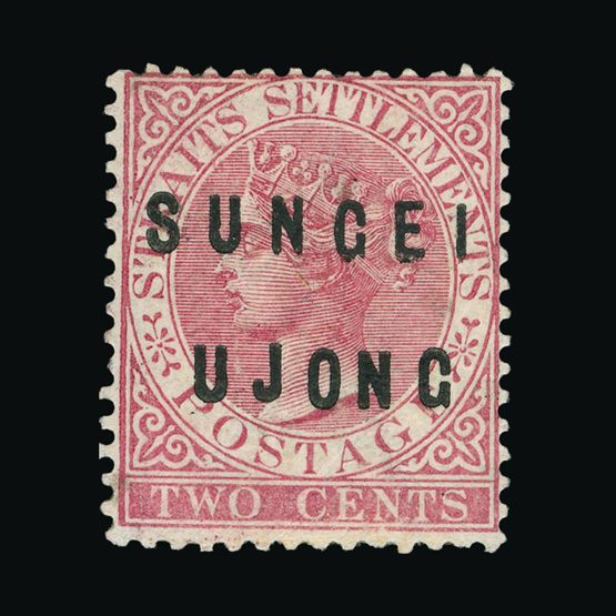 Lot 14415 - Malaya - Sungei Ujong 1882-84 -  Universal Philatelic Auctions Sale #72