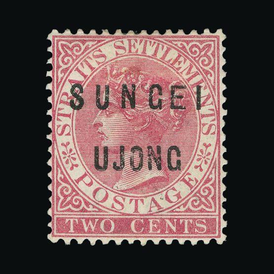Lot 14419 - Malaya - Sungei Ujong 1883-84 -  Universal Philatelic Auctions Sale #72