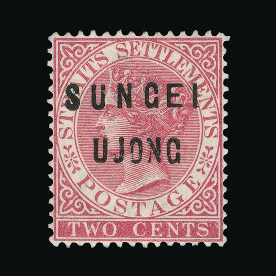 Lot 14423 - Malaya - Sungei Ujong 1883-84 -  Universal Philatelic Auctions Sale #72