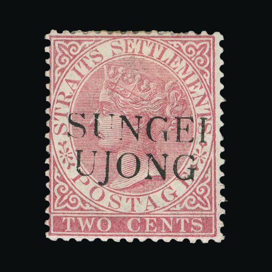 Lot 14430 - Malaya - Sungei Ujong 1885-90 -  Universal Philatelic Auctions Sale #72