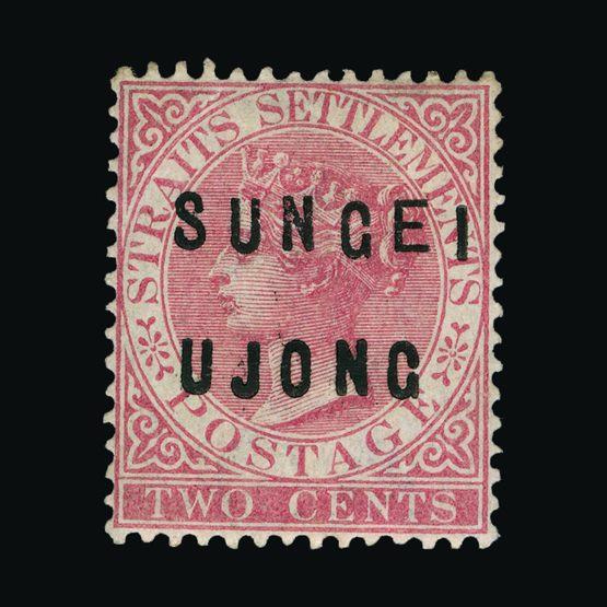 Lot 21788 - Malaya - Sungei Ujong 1883-84 -  Universal Philatelic Auctions Sale #72