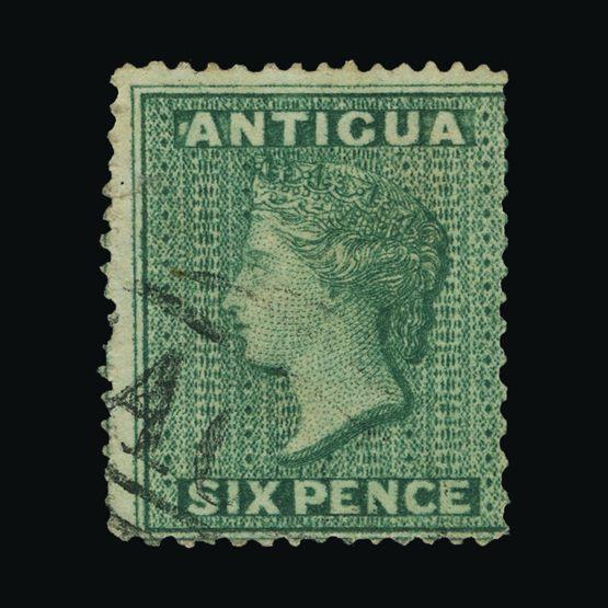Lot 319 - antigua 1862 -  Universal Philatelic Auctions Sale #72