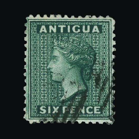 Lot 344 - antigua 1872 -  Universal Philatelic Auctions Sale #72