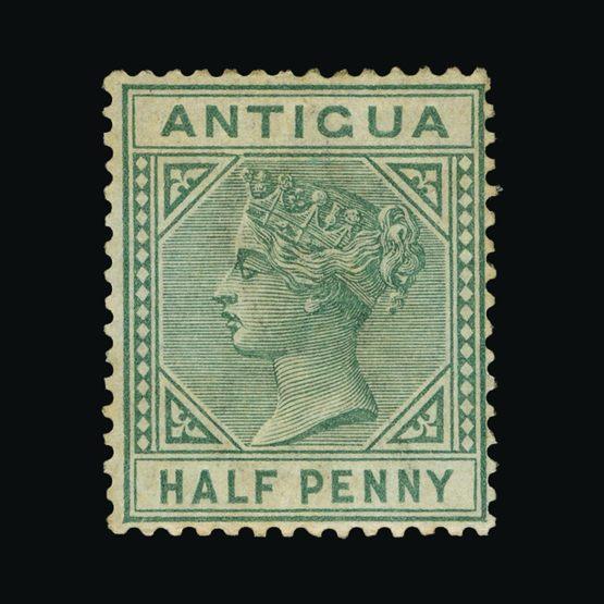 Lot 355 - antigua 1882 -  Universal Philatelic Auctions Sale #72