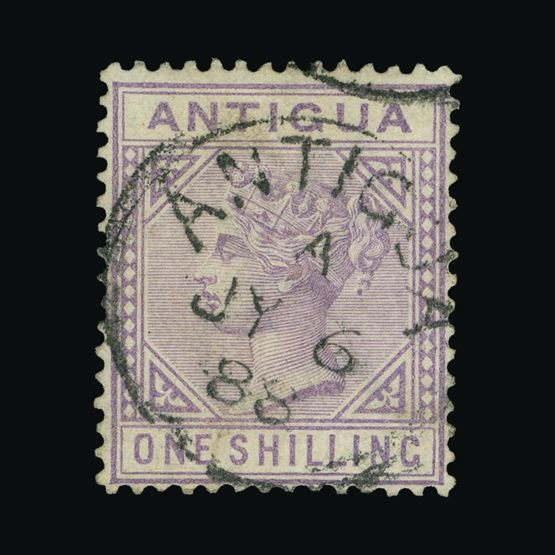 Lot 358 - antigua 1884-87 -  Universal Philatelic Auctions Sale #72