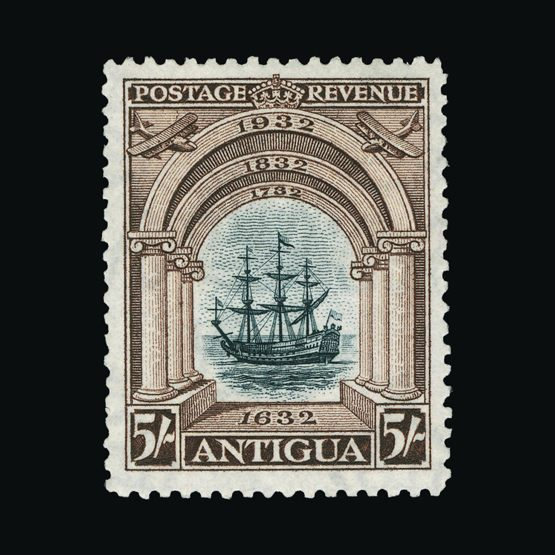 Lot 430 - antigua 1932 -  Universal Philatelic Auctions Sale #72