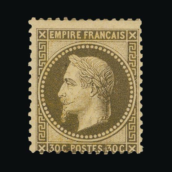 446122e27fe8 Lot 5751 - France 1863 - Universal Philatelic Auctions Sale  72