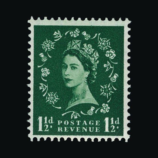 Lot 10085 - Great Britain - QEII (pre-decimal) 1957 -  Universal Philatelic Auctions Sale #73