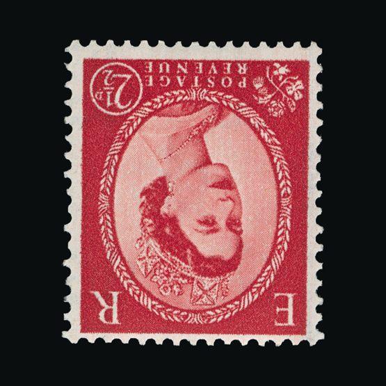 Lot 10089 - Great Britain - QEII (pre-decimal) 1958-61 -  Universal Philatelic Auctions Sale #73