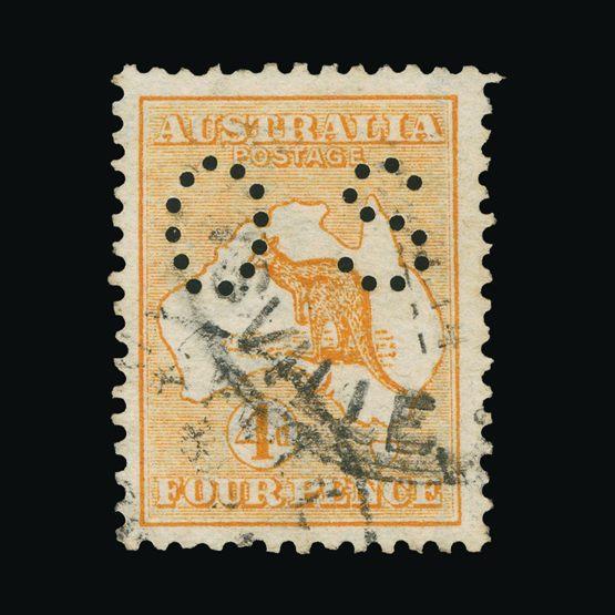 Lot 1036 - australia - officials 1914 -  Universal Philatelic Auctions Sale #73