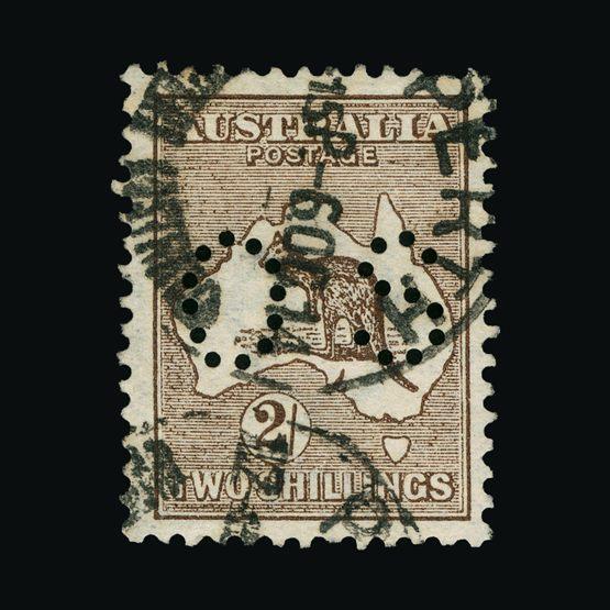 Lot 1038 - australia - officials 1914 -  Universal Philatelic Auctions Sale #73
