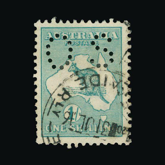 Lot 1040 - australia - officials 1915 -  Universal Philatelic Auctions Sale #73