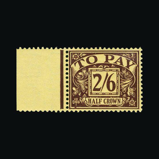 Lot 10505 - Great Britain - Postage Dues 1936-37 -  Universal Philatelic Auctions Sale #73