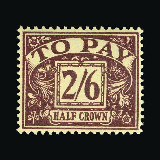 Lot 10533 - Great Britain - Postage Dues 1954-55 -  Universal Philatelic Auctions Sale #73