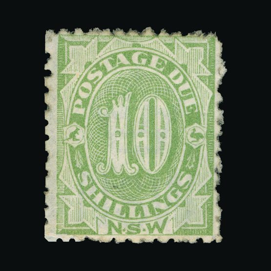 Lot 1083 - Australia - States - New South Wales 1891-97 -  Universal Philatelic Auctions Sale #73