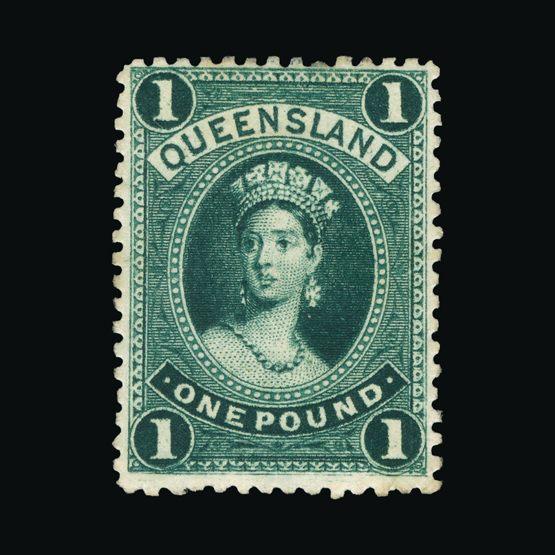 Lot 1103 - Australia - States - Queensland 1882-95 -  Universal Philatelic Auctions Sale #73