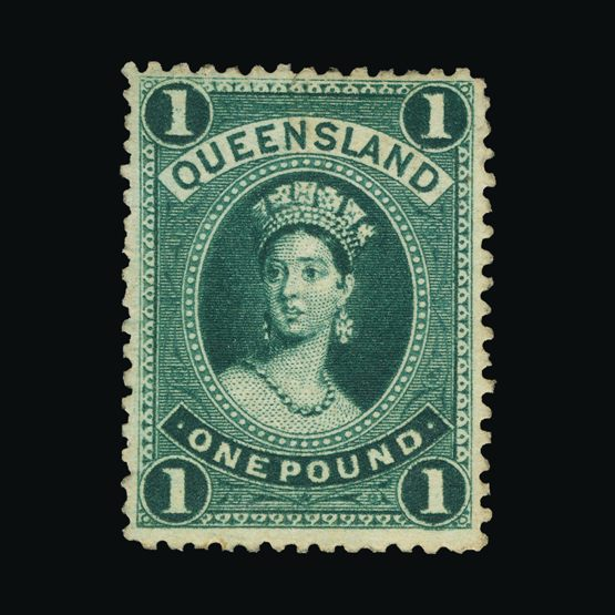 Lot 1104 - Australia - States - Queensland 1886 (10 Nov) -  Universal Philatelic Auctions Sale #73