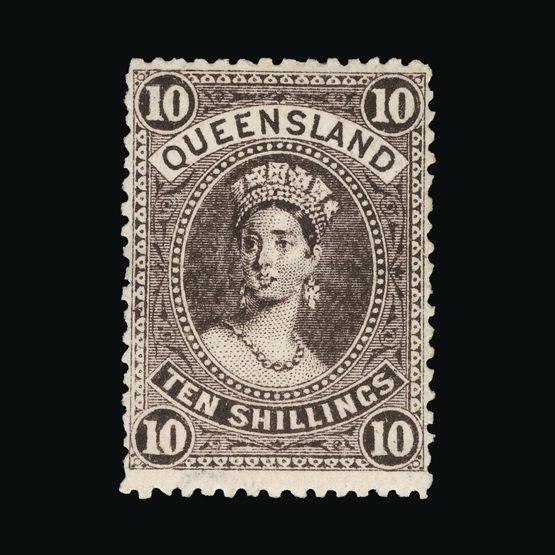 Lot 1106 - Australia - States - Queensland 1907 -  Universal Philatelic Auctions Sale #73