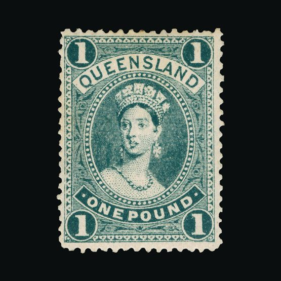 Lot 1107 - Australia - States - Queensland 1907 -  Universal Philatelic Auctions Sale #73