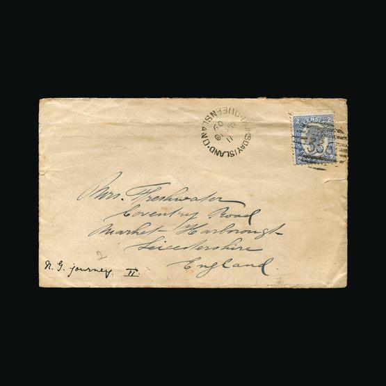 Lot 1109 - Australia - States - Queensland 1909 -  Universal Philatelic Auctions Sale #73