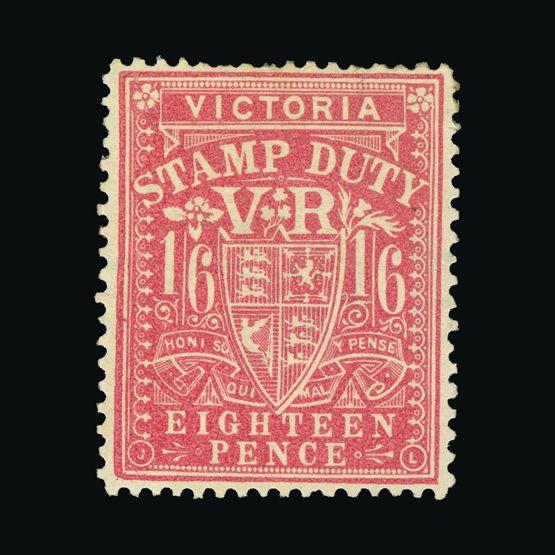 Lot 1167 - Australia - States - Victoria 1884-96 -  Universal Philatelic Auctions Sale #73