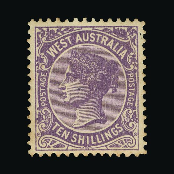 Lot 1200 - Australia - States - Western Australia 1902-11 -  Universal Philatelic Auctions Sale #73