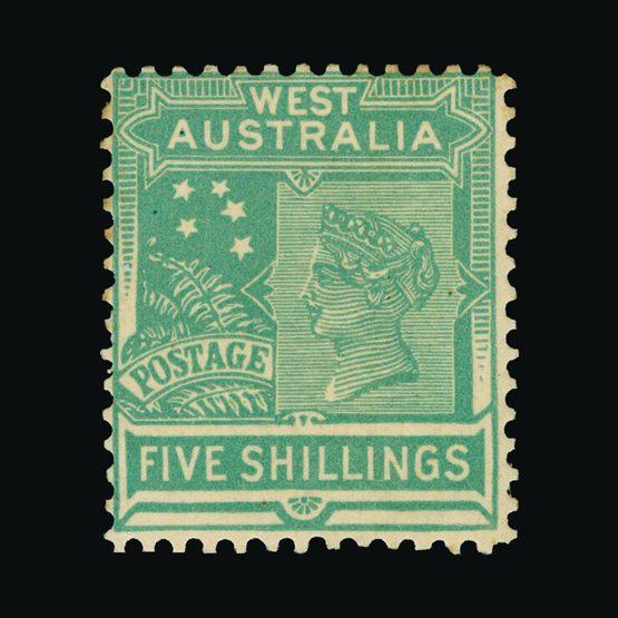 Lot 1203 - Australia - States - Western Australia 1907 (Sept) -  Universal Philatelic Auctions Sale #73