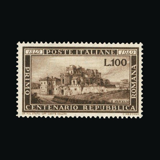 Lot 12522 - Italy 1949 -  Universal Philatelic Auctions Sale #73
