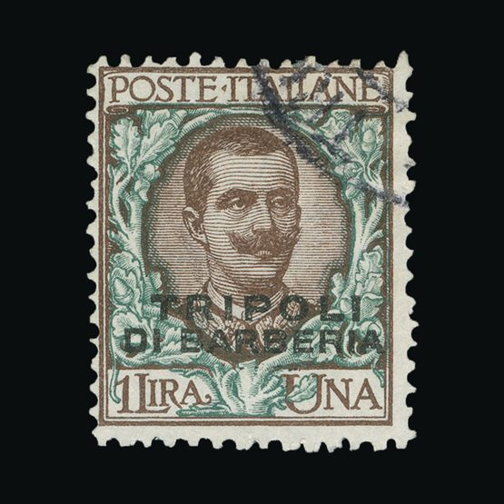 Lot 12603 - Italy - Colonies - Tripolitania 1909 -  Universal Philatelic Auctions Sale #73