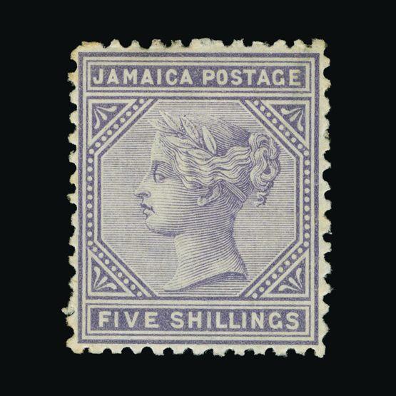 Lot 12624 - jamaica 1870-83 -  Universal Philatelic Auctions Sale #73