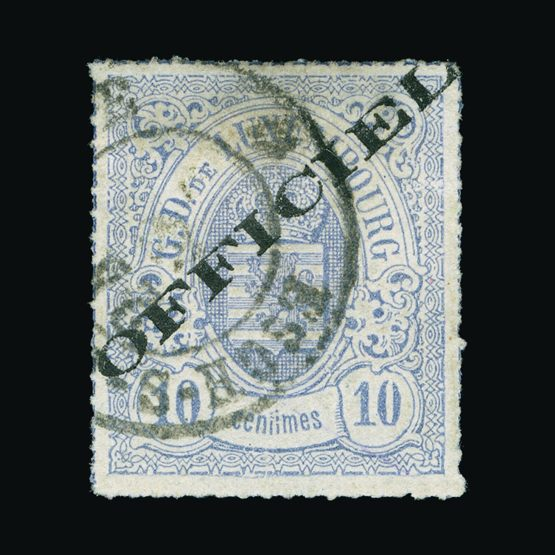 Lot 13335 - Luxembourg 1875-80 -  Universal Philatelic Auctions Sale #73