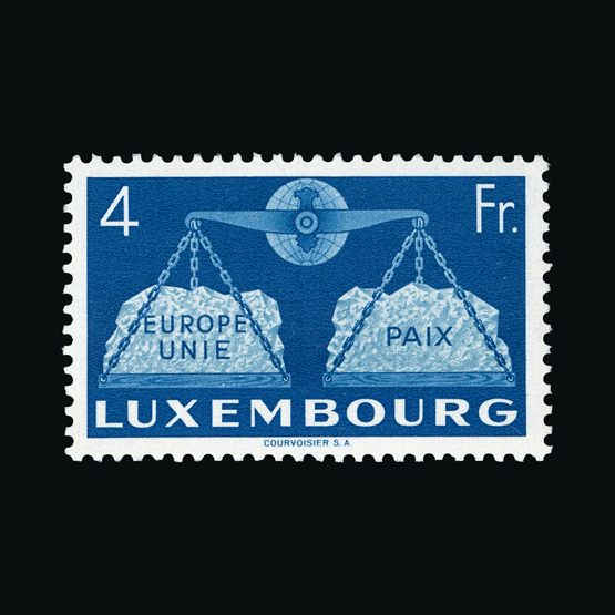 Lot 13342 - Luxembourg 1951 -  Universal Philatelic Auctions Sale #73