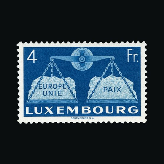 Lot 13343 - Luxembourg 1951 -  Universal Philatelic Auctions Sale #73
