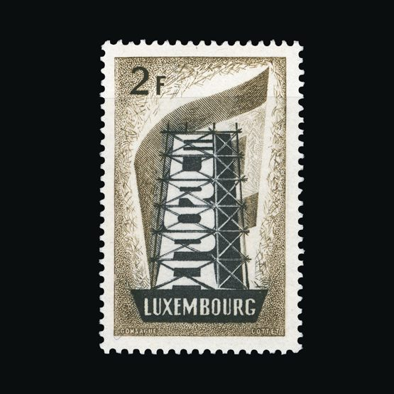 Lot 13353 - Luxembourg 1956 -  Universal Philatelic Auctions Sale #73