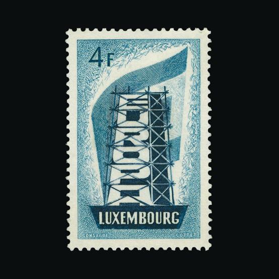Lot 13354 - Luxembourg 1956 -  Universal Philatelic Auctions Sale #73