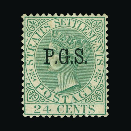 Lot 13765 - malaya - perak 1889 -  Universal Philatelic Auctions Sale #73