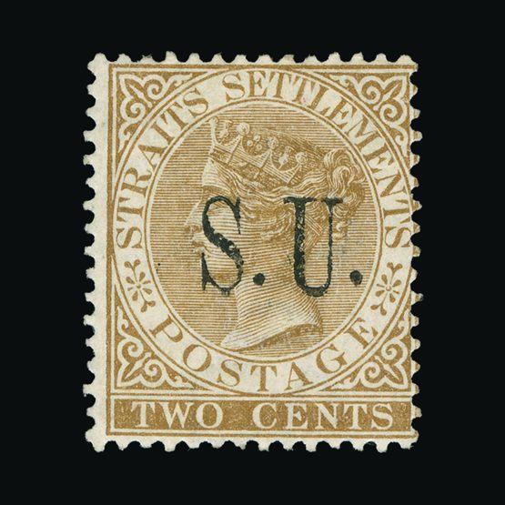 Lot 14123 - Malaya - Sungei Ujong 1882 -  Universal Philatelic Auctions Sale #73