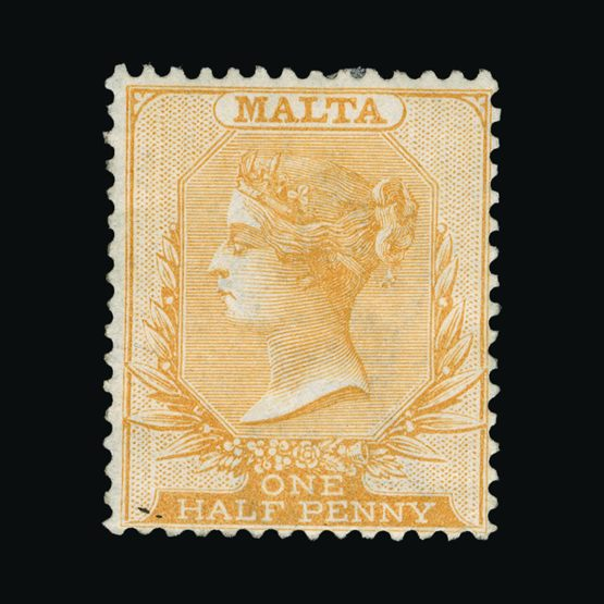 Lot 14219 - Malta 1863 -  Universal Philatelic Auctions Sale #73