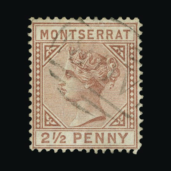 Lot 14766 - montserrat 1880 -  Universal Philatelic Auctions Sale #73