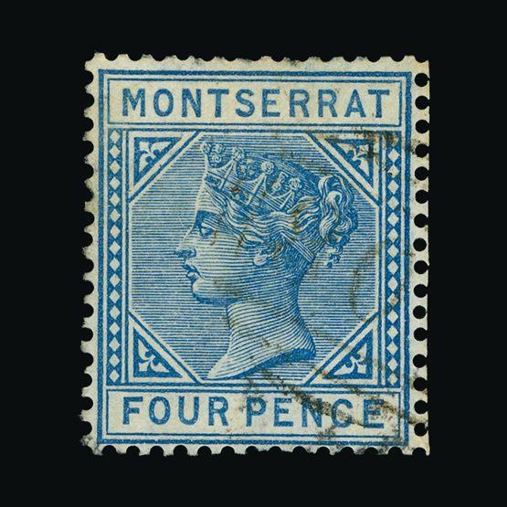 Lot 14773 - montserrat 1884-85 -  Universal Philatelic Auctions Sale #73