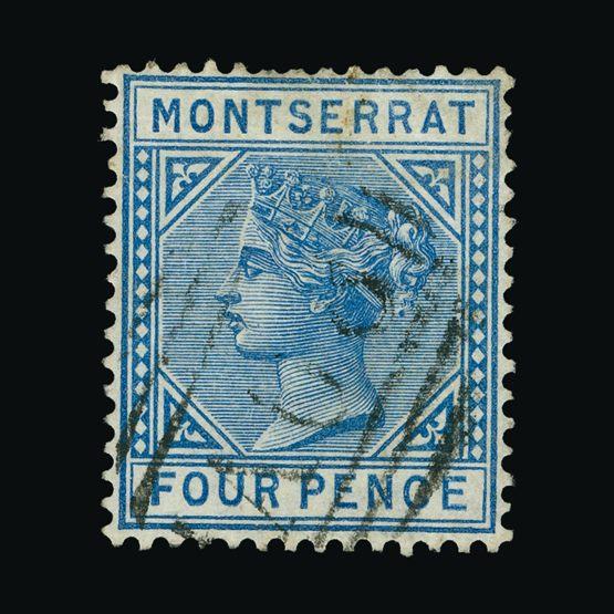 Lot 14776 - montserrat 1884-85 -  Universal Philatelic Auctions Sale #73